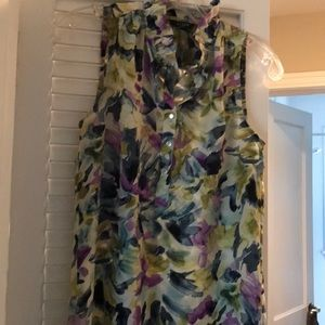 J, Crew sleeveless top